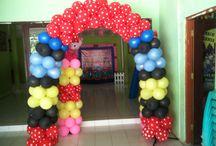 Icon balloon decorations