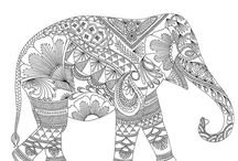 Adult Colouring In Books Patterns