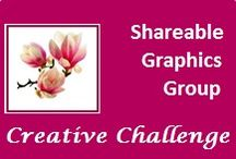 Shareable Graphics Group Board / This was a Board with a challenge for participants in my 'Creating Shareable Graphics' Workshop in 2014.They had  to create shareable graphics of Quotes, Affirmations & Business Tips using Contrast & Repetition Design Principles and adding their business name to the bottom of the graphic. Now I am making it public for Group members to showcase their graphic skills.