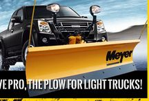 Meyer / The innovator, pioneer and leader in manufacturing highly reliable snow and ice control equipment.