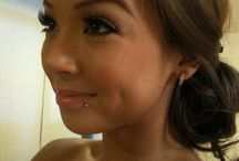 Χείλη piercing