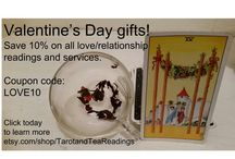 Gift Ideas Valentine's Day Tarot and Tea Leaf Readings