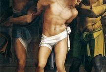 Себастьяно дель Пьомбо - Sebastiano del Piombo (1485-1547). / Итальянский художник, принадлежавший к поколению Тициана, близкий современник Рафаэля, на десять  лет  младше Джорджоне и Микеланджело,  Себастьяно  дель  Пьомбо родился,   вероятно,  в  Венеции  в 1485.  Согласно Вазари,  он умер  в возрасте  62  лет.