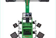 Thiết bị cân chỉnh góc đặt bánh xe / Thông tin máy cân chỉnh góc đặt bánh xe nhãn hiệu Bosch
