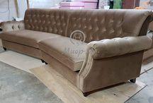"""Мягкая мебель на заказ / """"Миор-М"""" Производство мягкой мебели."""