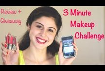 My new Maybelline New York India 3 Minute Makeup Challenge + Lip polish Review & Giveaway