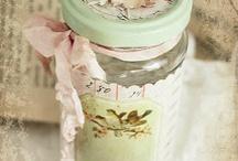 decoracion con frascos