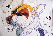 Animals Patchwork,Quilting And Patterns