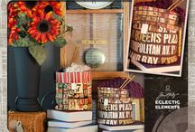 Fabric Baskets and other Organizars.
