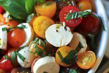 Recettes - salades et vinaigrettes