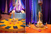 Moroccan Wedding Theme