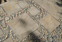 Δάπεδα με πέτρες