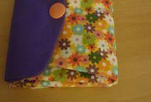 selbst gemacht / Möbius-Schal aus Sockenwolle - kurz vorm Fädenverstechen ;-)