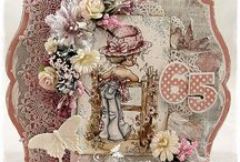 Reprint Papers / Cards and projects created using Reprint Hobby Papers.