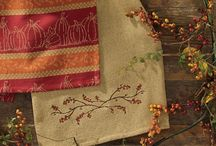 Pattern: Burlap & Bittersweet / Use the Burlap & Bittersweet Collection to add a fun touch of harvest and Thanksgiving themes with simple additions to enliven your country or primitive farmhouse decor. / by Piper Classics