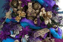 Christmas Theme: Royal Peacock