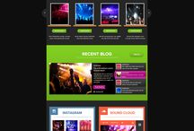 DJ Burns Custom Website Design / CI WebGroup welcomes you to our collection of web designs, interior pages, cover photos and banner pages for social media for our client DJ Burns. Professionally done by CI WebGroup.