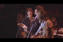 The Band / I'd rather listen to these guys than eat a Chocolate Cream Pie!  From the Martin Scorsese documentary The Last Waltz, 1976. This concert is the last time The Band played together.  / by ronnie gunn tucker