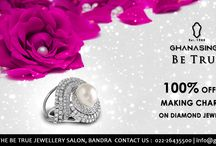 Discount Offer / Since the offer on making charges on diamond jewellery is on till 15th May, these pins highlight the offer.