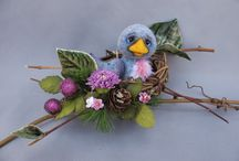 Needle felting..& felt.. / by Ann York