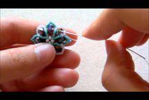 beadwork/vidio / создание украшений из бисера/видио-уроки