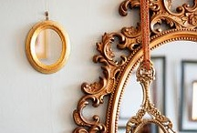 Mirror, Mirror on the Wall..... / I love mirrors..........  / by Brenda Herring