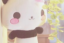 Panda Plushies