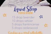 Essential Oil Sleep Recipes / Diffuser blends, cream, spray, and lotion DIY aromatherapy recipes and ideas to help  insomnia.