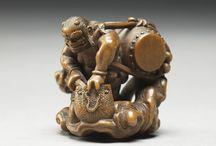 Netsuke of Supernatural Figures