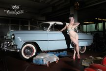 Pinup us car