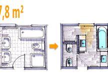 Badezimmer / Ideen zur Gestaltung
