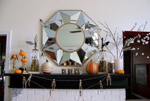 All Hallows' Eve / I've been obsessed with Halloween decor pretty much my whole life... / by Laura Colón Baker