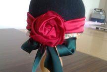 Şapkalar / Keçeden ve artık kumaşlardan şapka yapımı