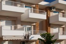 Aqua Apartments / An apartment complex in the center of Kallithea, the most popular village of the Kassandra peninsula in Chalkidiki.