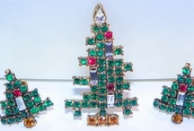 Christmas Tree Pins / I have the most lovely collection of Vintage Rhinestone Christmas Tree pins. Most of them signed. Here you will find lots of pretty pins some I have and some I don't. hehehehe if you ever want to buy me a gift you can look for the I wants on this Board. Haha Hugggs / by Pam England