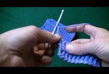 kötés, horgolás minták