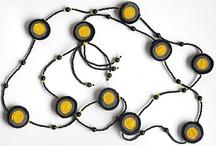 my necklaces - mijn kettingen / necklaces made by me Kettingen die ik zelf maakte