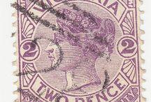 Vintage Australian Stamps