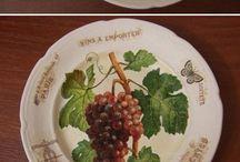prato decorado