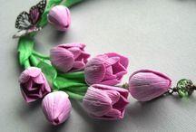 tulipány / inspirace for Janette