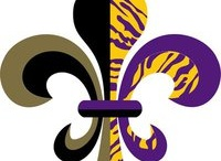 Geaux Tigers/Saints / by Kay Seabough
