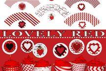 Valentine Party Printables / Valentine Party Printables