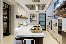 Cooking show interior