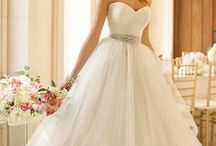 Here Comes the Bride  / Wedding gown ideas in all styles, shapes and sizes  / by HerRoom