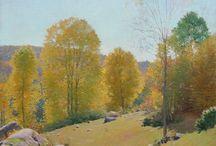 Frank Vincent DuMond (1865 - 1951) / Artista Americano Sec. XIX - XX