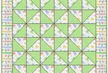 3 - 4 Fabric Quilt Patterns