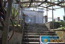 Casa Rivo / Casa Rivo in located in Santa Maria Annunziata, a small village in the common of Massa Lubrense, on a lovely hill overlooking the valley with olive and lemon groves and part of the gulf of Naples.