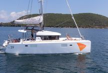 Olympia Catamaran / Lagoon 39 , Year 2016 Equipment : Cockpit Table, Water tank 600L, Fuel tank 400L, Inverter 1500W, Fans in cabins & salon, 2 Refrigerators, Solar Panels 400W, Autopilot, GPS Plotter 12'' B&G, Depth sounder, VHF, Stereo System, Hydraulic Gangway, Tender Highfield 290, Outboard 6Hp