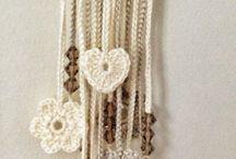 cordão de croché
