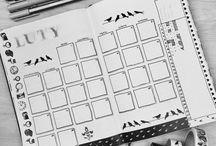 Bullet Journal - Miesiąc